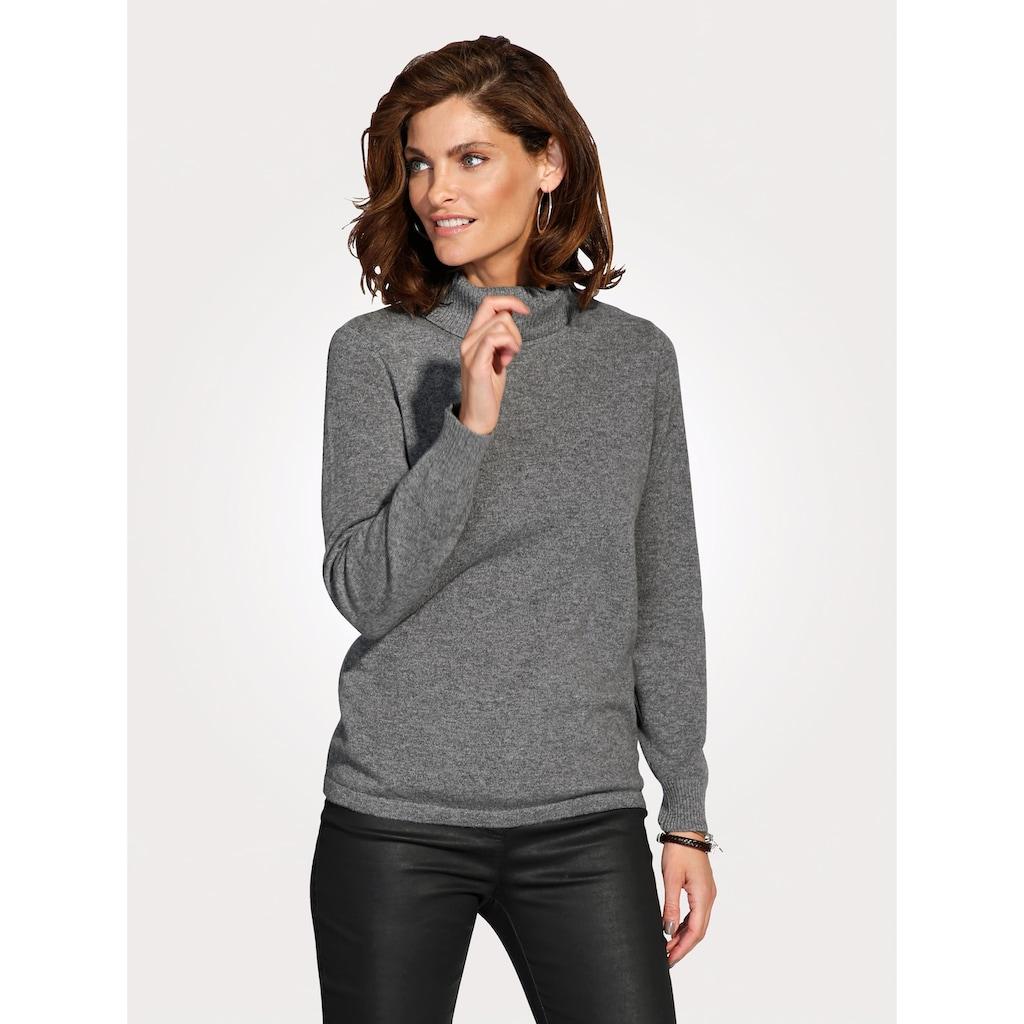 Mona Kaschmir-Pullover mit Rollkragen