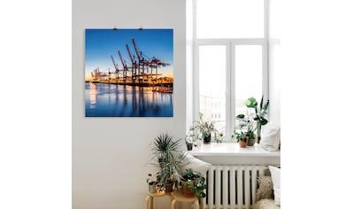 Artland Wandbild »Hamburg Container Terminals« kaufen
