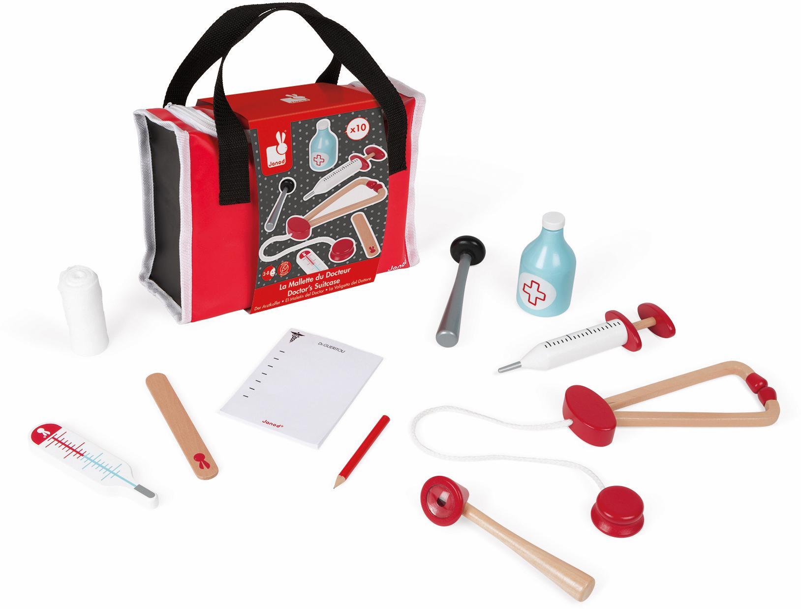 janod rollenspielzeug doktortasche auf rechnung. Black Bedroom Furniture Sets. Home Design Ideas