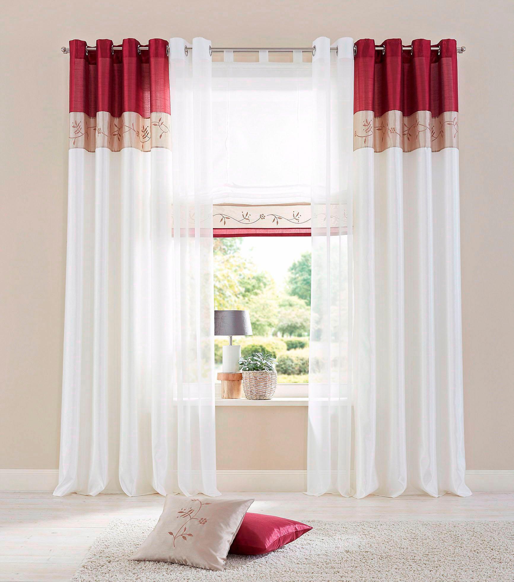 raffrollo sorel my home mit klettband kaufen baur. Black Bedroom Furniture Sets. Home Design Ideas