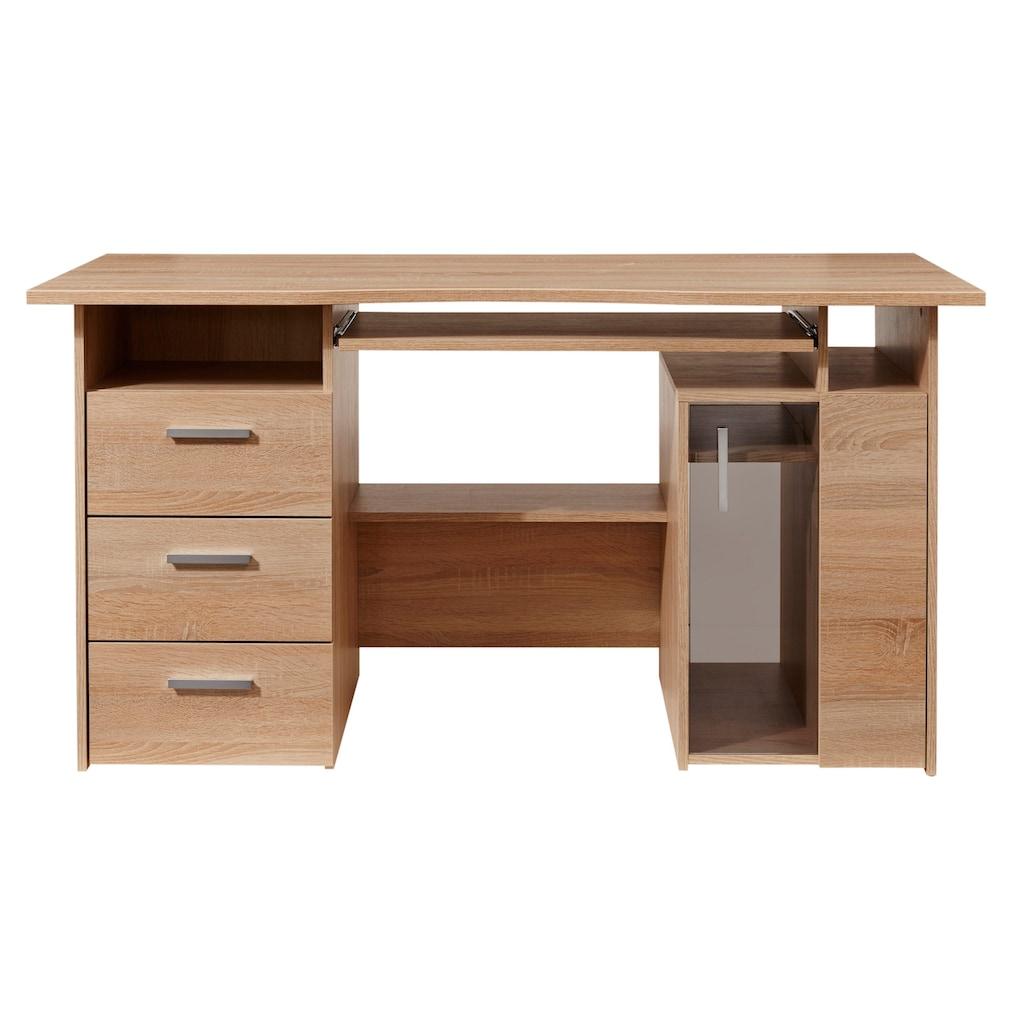 Maja Möbel Computertisch »Heide«, mit Tastaturauszug und Druckerfach