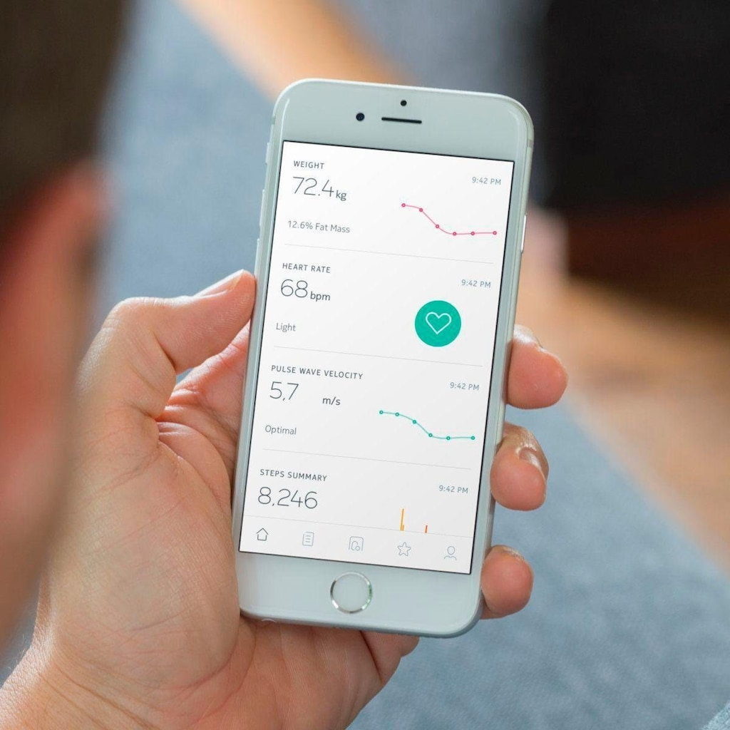 Withings Körper-Analyse-Waage »Body Cardio«