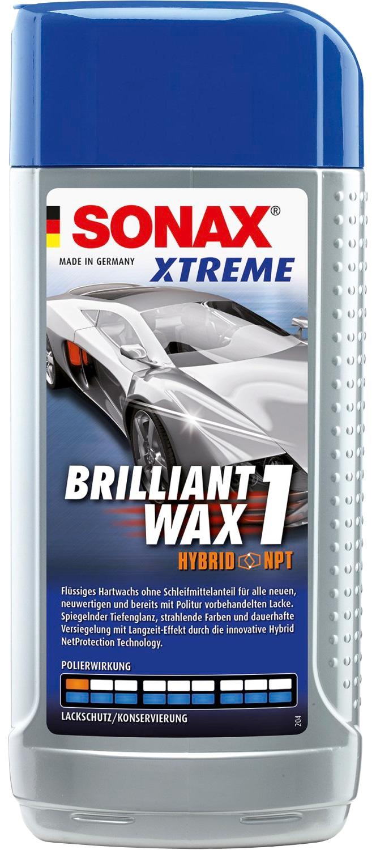 Sonax Autowachs Brilliant-Wax Xtreme, 500 ml grau Autopflege Autozubehör Reifen