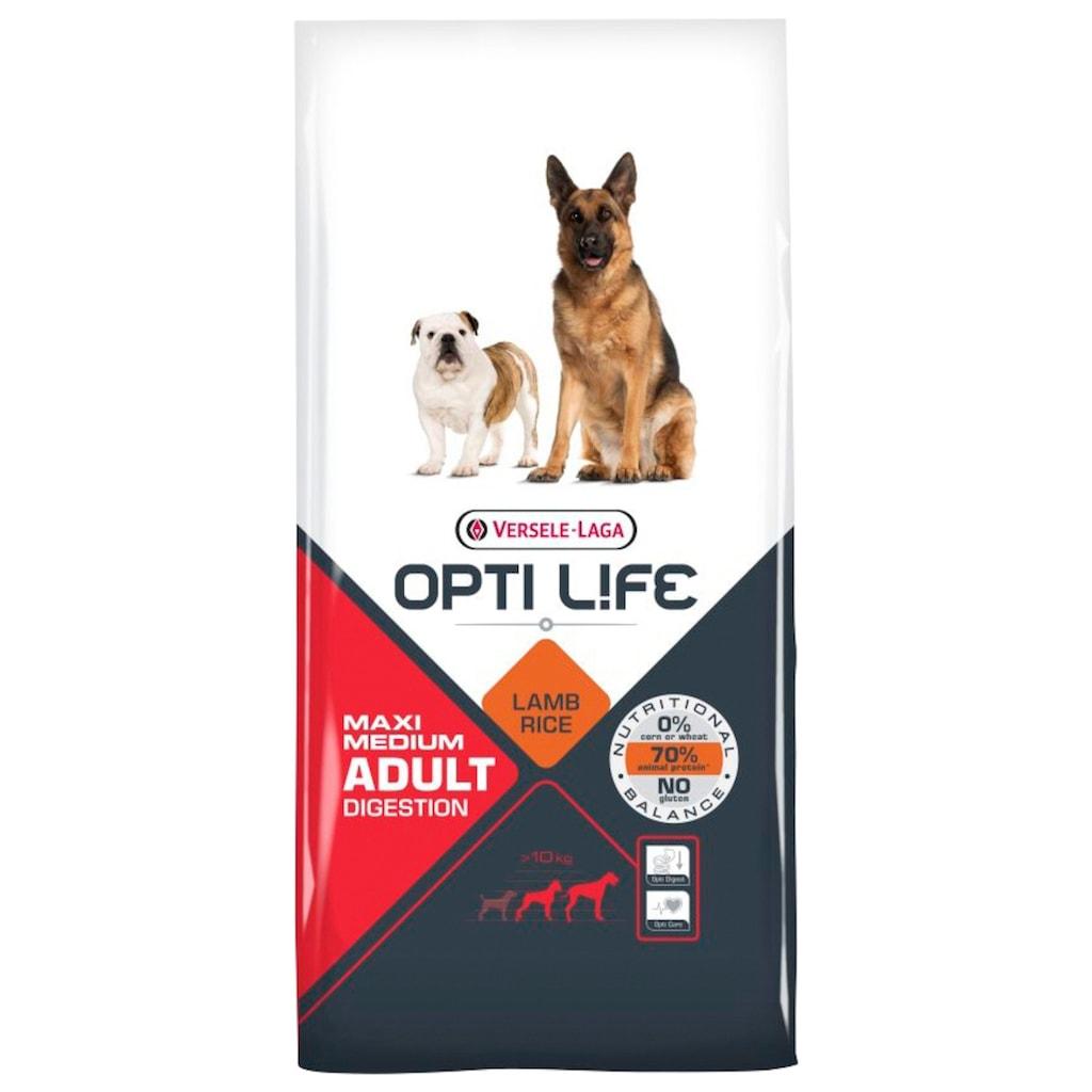 Bento Kronen Trockenfutter »Opti Life Adult Digestion Medium&Maxi«, (1), 12,5 kg