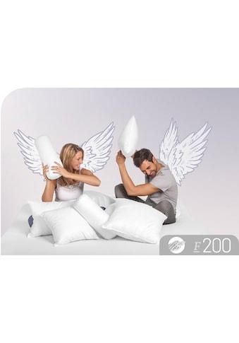 Baumwollkissen, »F200«, Schlafstil, Füllung: 100% Polyester, Bezug: 100% Baumwolle kaufen