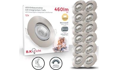 B.K.Licht LED Einbauleuchte, LED-Board, Warmweiß, LED Deckenspots schwenkbar... kaufen