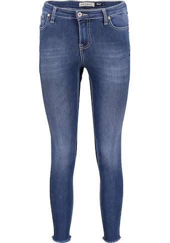 Please Jeans Slim-fit-Jeans »P0NH«, mit ausgefranstem Saumabschluss kaufen