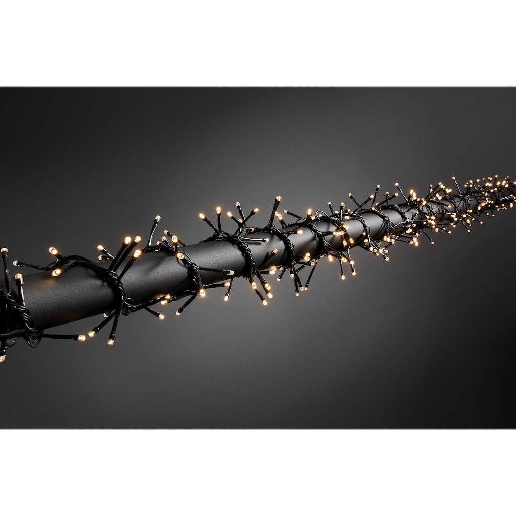 KONSTSMIDE LED Büschelllichterkette Cluster mit Lichtsensor
