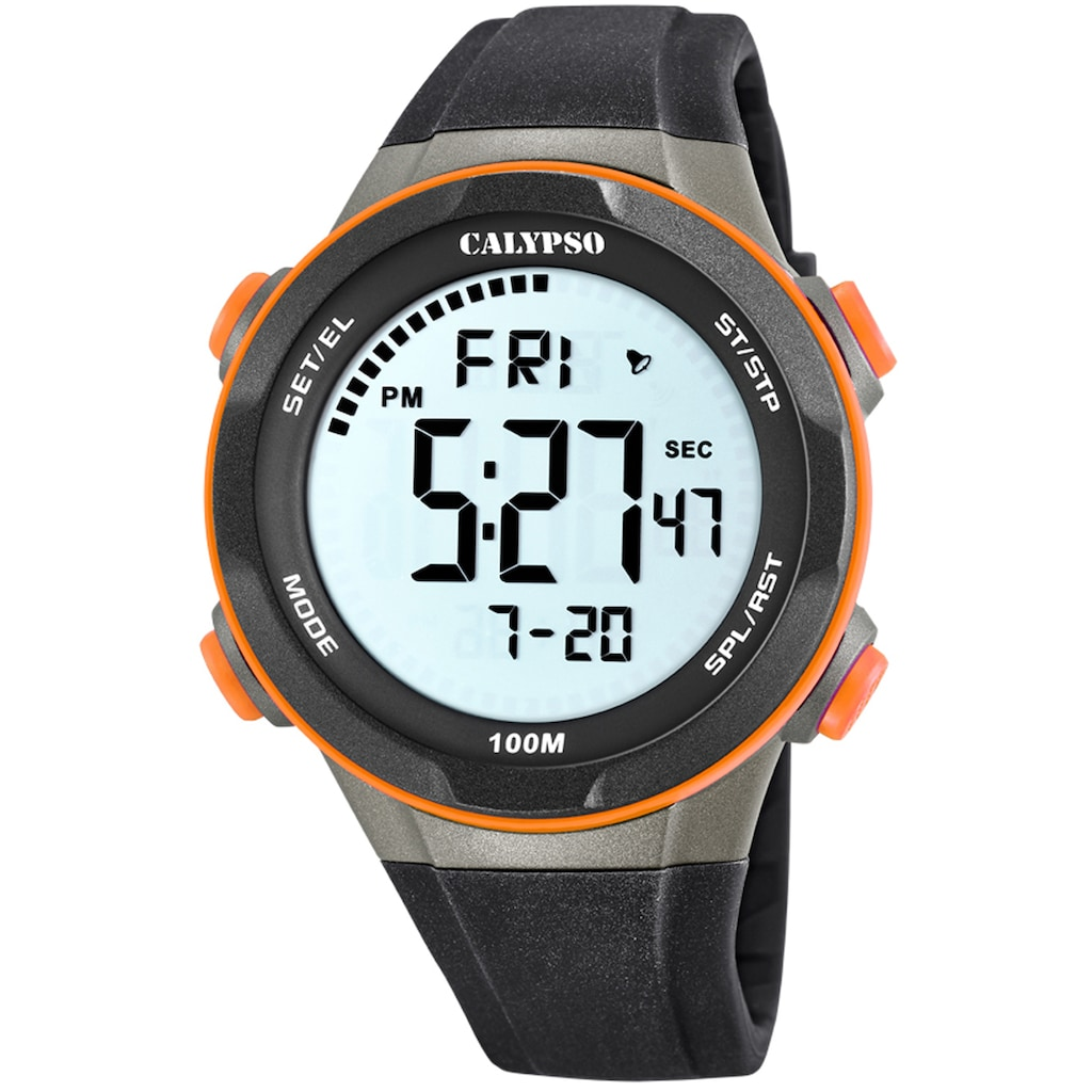 CALYPSO WATCHES Chronograph »Digital For Man, K5780/3«