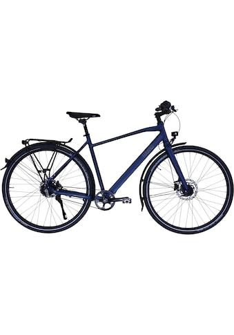 HAWK Bikes Trekkingrad »HAWK Trekking Gent Super Deluxe Ocean Blue«, 8 Gang, Shimano,... kaufen