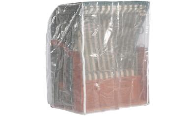 Schutzhülle, für Strandkörbe, B/T/H: 125/110/156cm, transparent kaufen