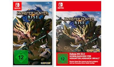 Nintendo Switch Spiel »Monster Hunter Rise + Deluxe Kit DLC«, Nintendo Switch kaufen