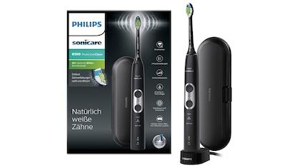 Philips Sonicare Schallzahnbürste HX6870/53 ProtectiveClean 6100, Aufsteckbürsten: 1 Stk. kaufen
