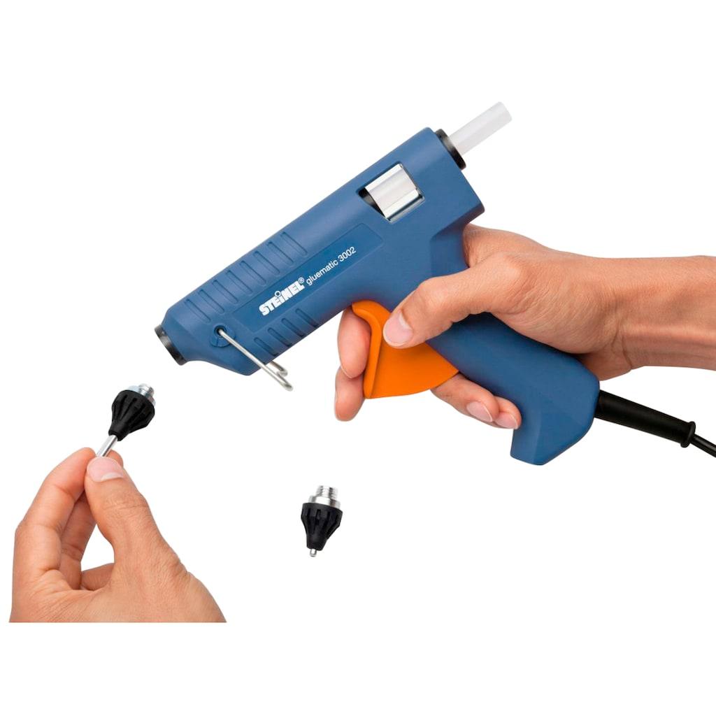 steinel Heißklebepistole »Gluematic 3002«, wechselbare Düsen, inkl. 3 Klebesticks ∅ 11 mm