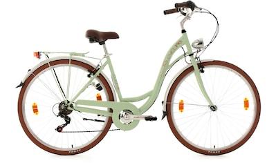 KS Cycling Cityrad »Eden«, 6 Gang Shimano Tourney RD - TZ 50 Schaltwerk, Kettenschaltung kaufen