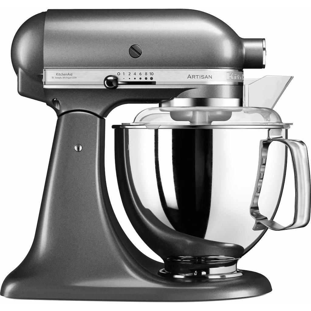 KitchenAid Küchenmaschine »5KSM175PSEMS Artisan«, 300 W, 4,8 l Schüssel, inkl. Sonderzubehör im Wert von ca. 106,-€ UVP