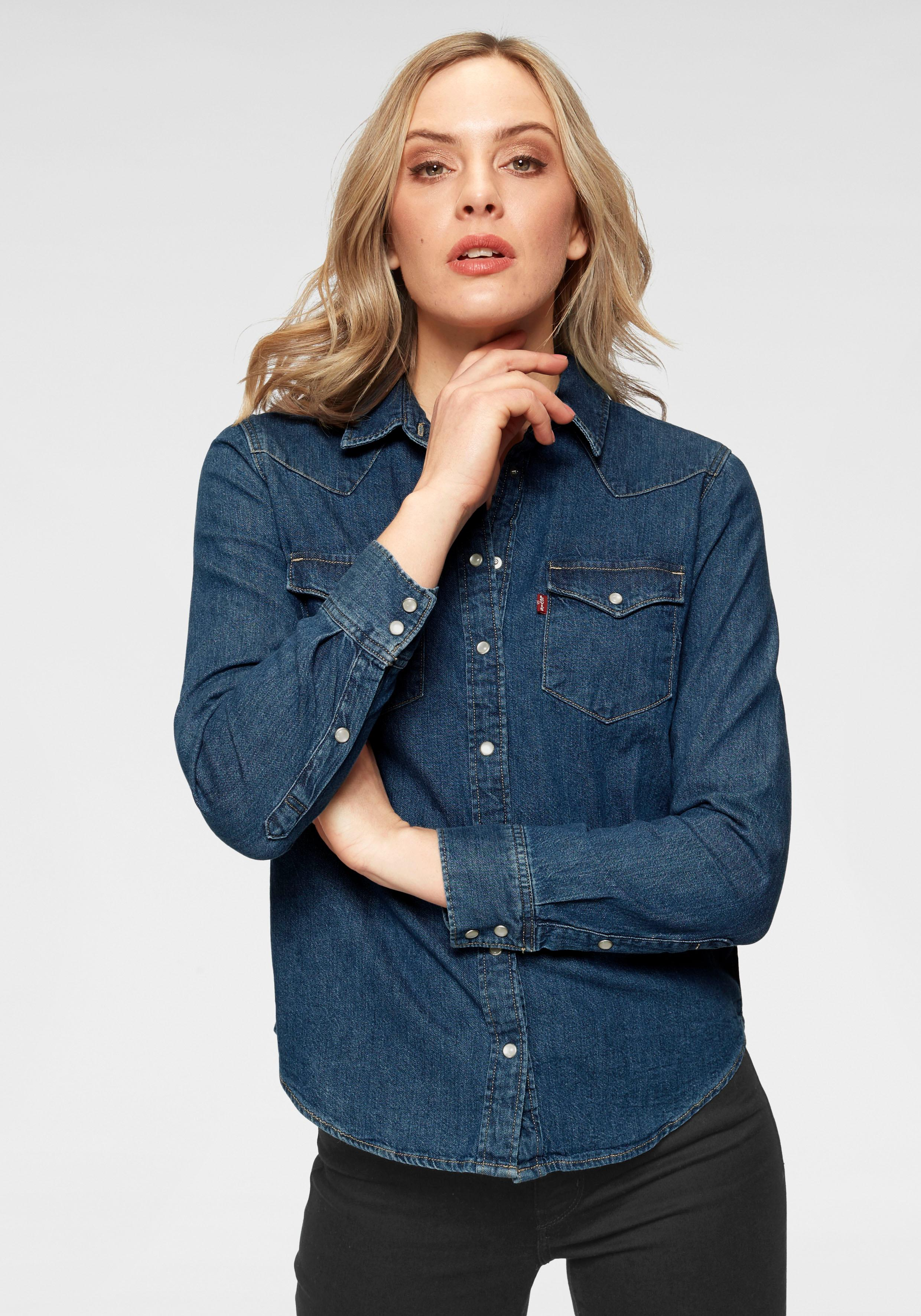 levis - Levi's Jeansbluse Ultimate Western Shirt