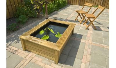 Ubbink Brunnenumrandung »QUADRO Wood II«, für Teichbecken Quadro 6 kaufen