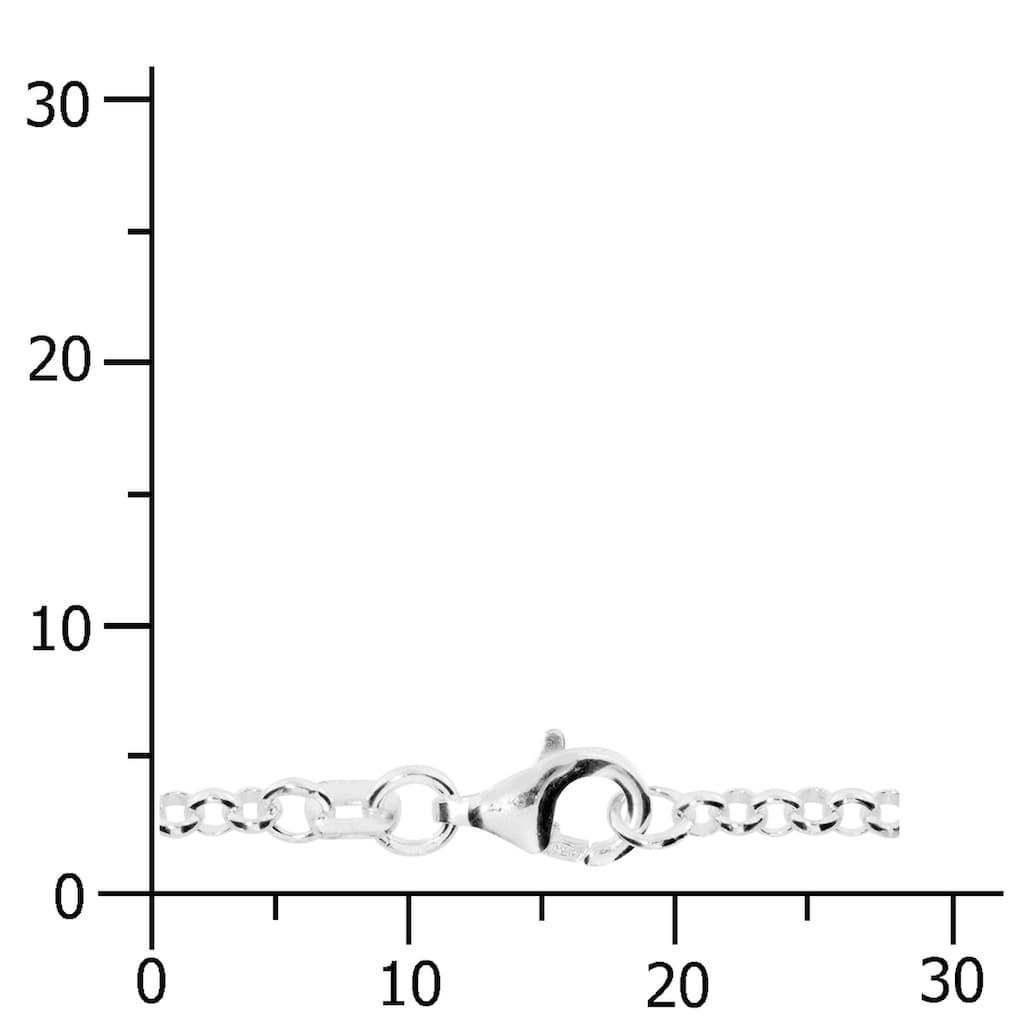 OSTSEE-SCHMUCK Silberkette »- Erbs 2,5 mm - Silber 925/000 -,«, (1 tlg.)