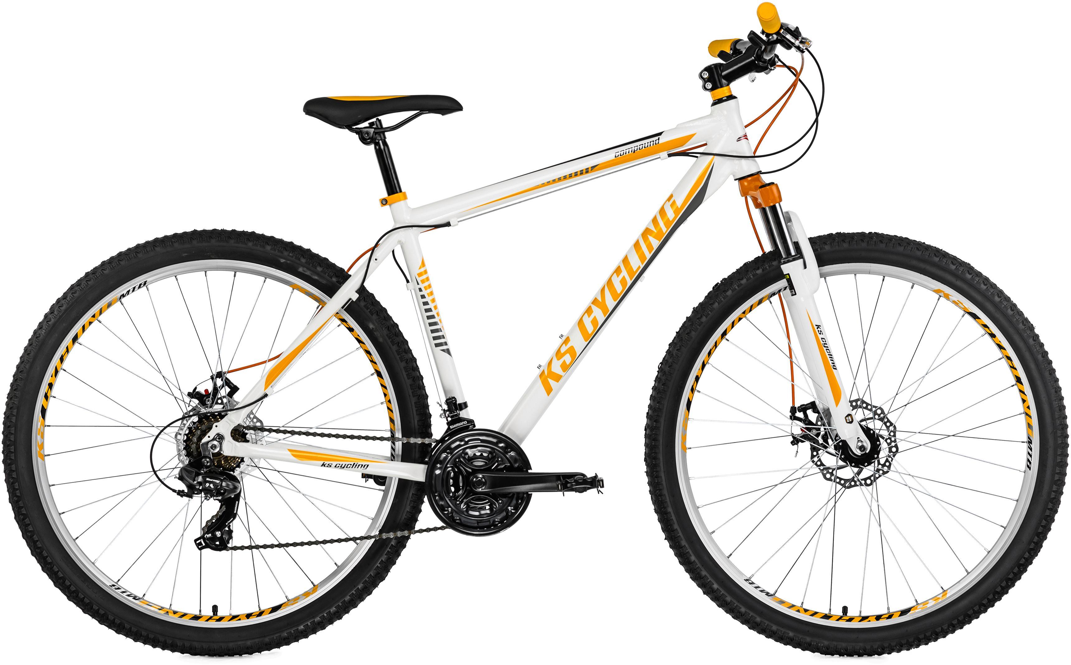 ks cycling mountainbike compound 21 gang shimano. Black Bedroom Furniture Sets. Home Design Ideas