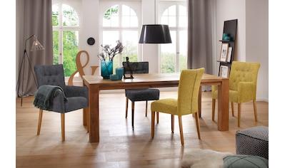 Home affaire Polsterstuhl »Queen«, Esszimmerstuhl mit Knopfheftung, 2er, 4er oder 6er-Set kaufen
