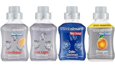 SodaStream Getränke-Sirup, Cola ohne Zucker; Orange ohne Zucker; Cola Light; Cola-Mix... kaufen