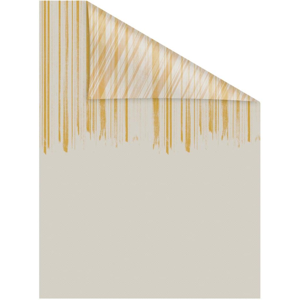 LICHTBLICK ORIGINAL Fensterfolie »Fensterfolie selbstklebend, Sichtschutz, Flowing Honey - Gelb«, 1 St., blickdicht, glattstatisch haftend