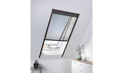 HECHT Insektenschutz - Dachfenster - Rollo braun/anthrazit, BxH: 80x160 cm kaufen