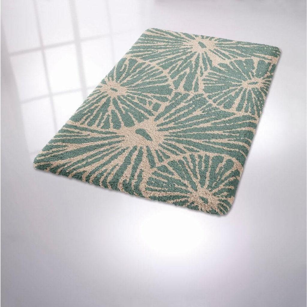 Kleine Wolke Badematte »Lotus«, Höhe 15 mm, rutschhemmend beschichtet, fußbodenheizungsgeeignet