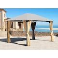 Quick Star Pavillonseitenteile »Nizza«, für 300x400 cm