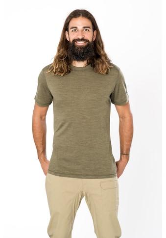 SUPER.NATURAL T-Shirt »M ESSENTIAL SS«, geruchshemmender Merino-Materialmix kaufen