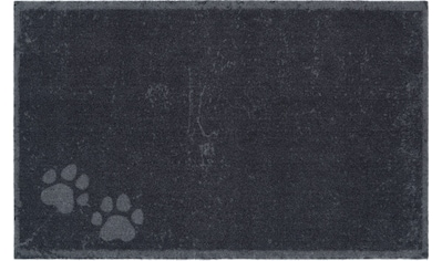 HANSE Home Fußmatte »Paws«, rechteckig, 4 mm Höhe, Fussabstreifer, Fussabtreter, Schmutzfangläufer, Schmutzfangmatte, Schmutzfangteppich, Schmutzmatte, Türmatte, Türvorleger kaufen
