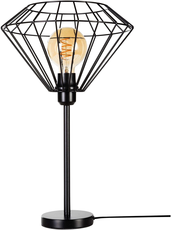 BRITOP LIGHTING Tischleuchte Raquelle, E27, 1 St., Dekorative Leuchte aus Metall, passende LM E27 / exklusive, Made in Europe