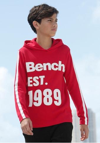 Bench. Kapuzenshirt »Interlockshirt« kaufen
