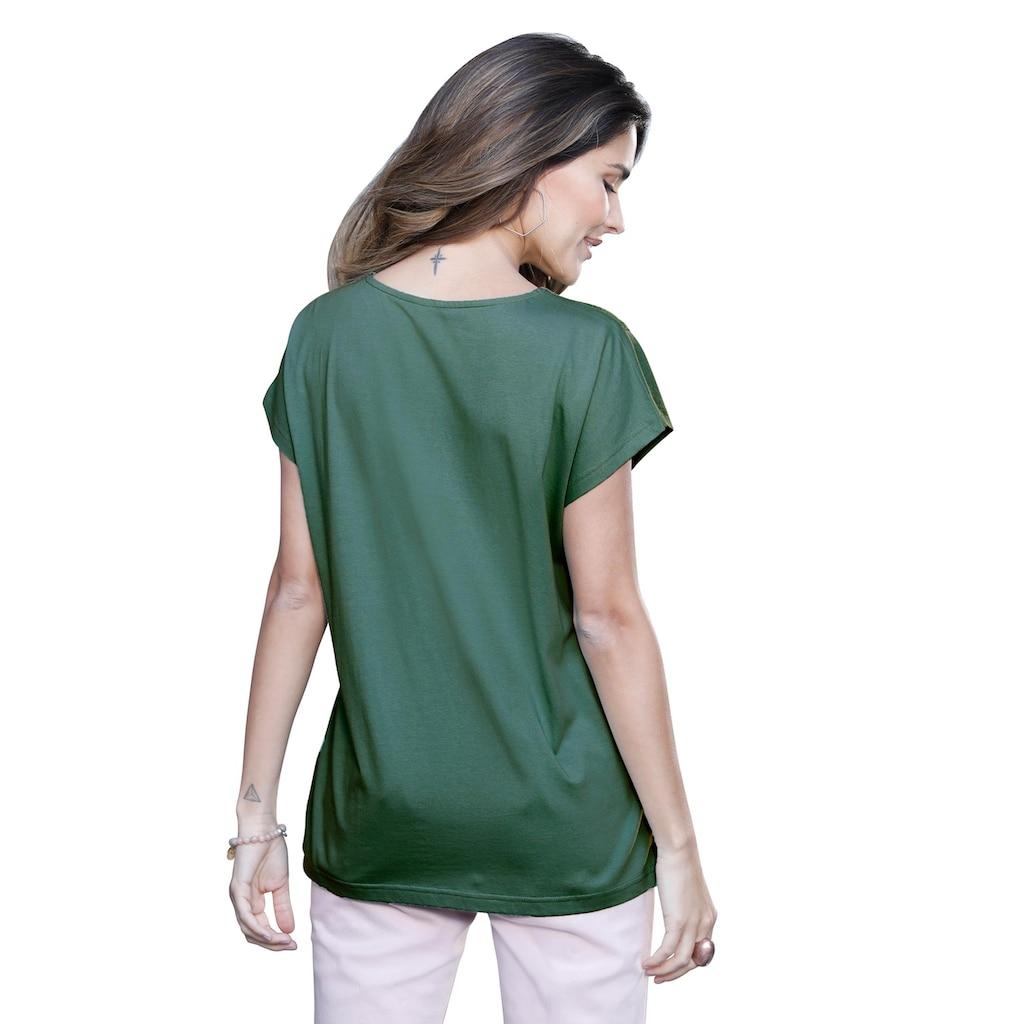 Classic Basics Spitzenshirt