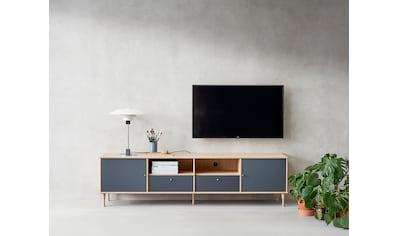 hammel Media-Board »MISTRAL«, Korpus mit Holzstruktur, Schubladen mit glatte Oberfläche, Türen mit Akustikstoff, Danish Design kaufen