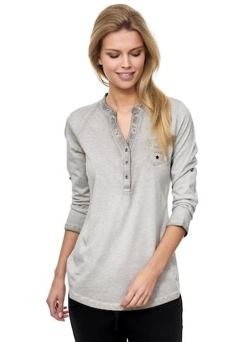 Decay Langarmshirt, mit Brusttasche kaufen