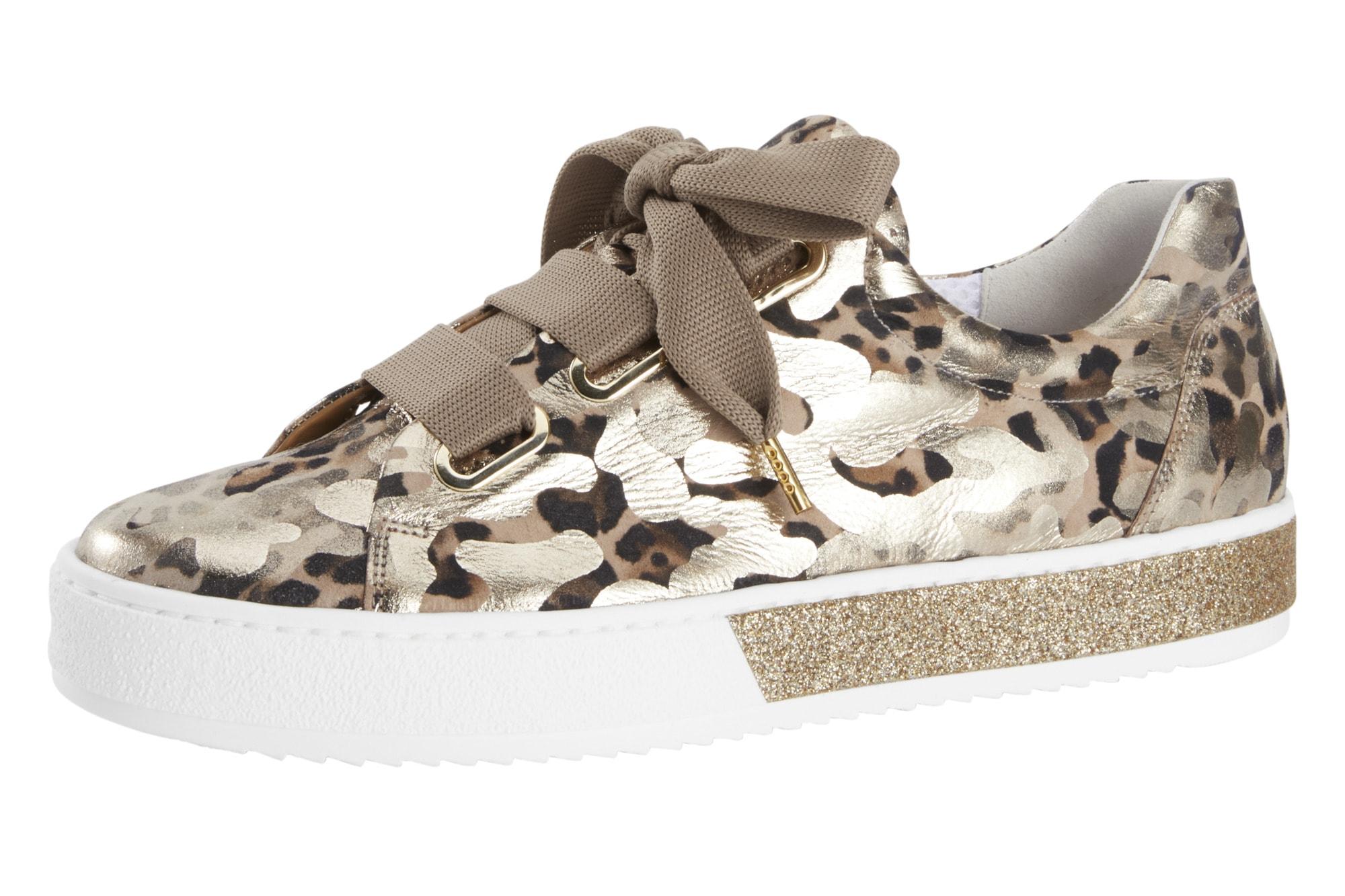 KaufenBaur Sneaker Günstig Mit Metallic Leoprint Gabor