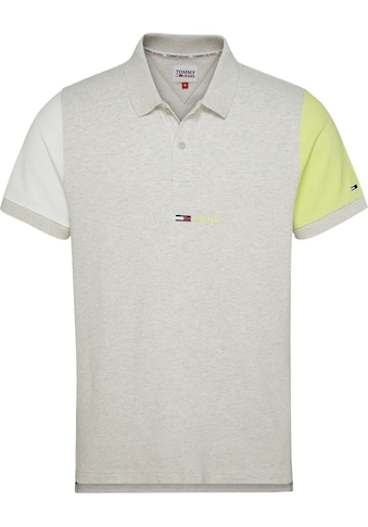 Tommy Jeans Poloshirt »TJM CONTRAST SLEEVES POLO« kaufen