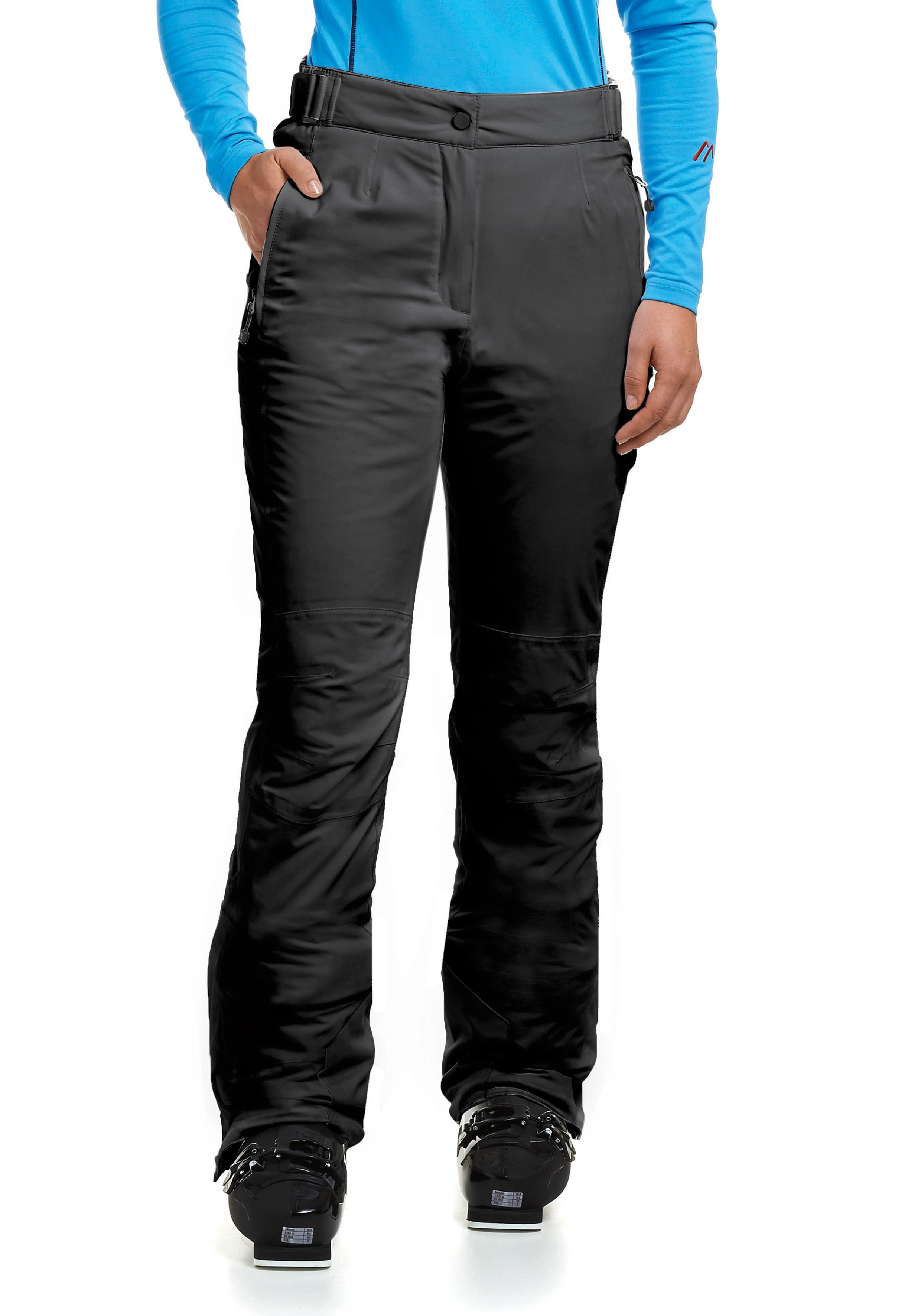 Maier Sports Skihose Vroni slim   Sportbekleidung > Sporthosen > Sonstige Sporthosen   Schwarz   Maier Sports