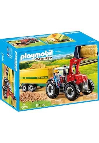 "Playmobil® Konstruktions - Spielset ""Riesentraktor mit Anhänger (70131), »Country«"", Kunststoff kaufen"
