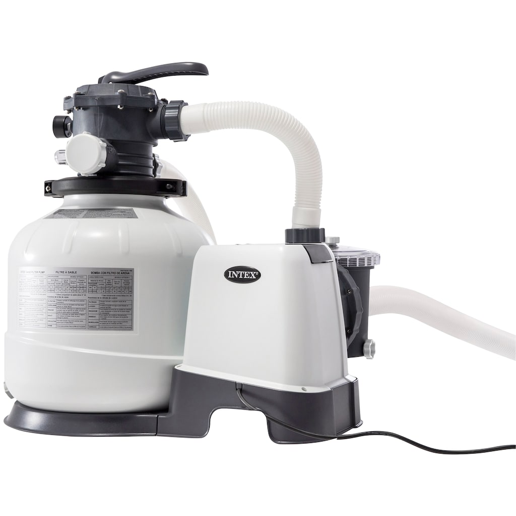 Intex Sandfilteranlage »Krystal Clear«, Pumpenleistung ca. 2,8 m³/h