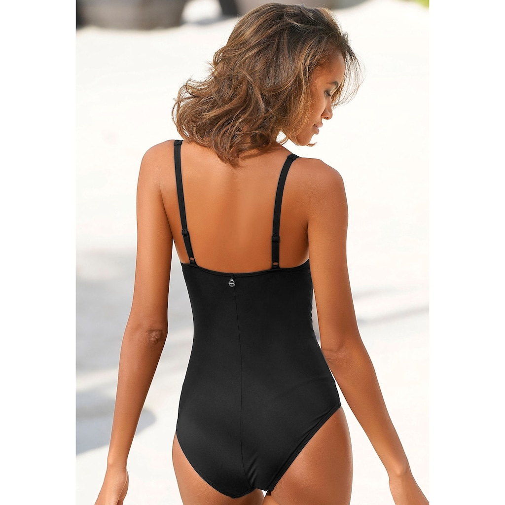 LASCANA Badeanzug »Camilla«, mit Farbkontrast