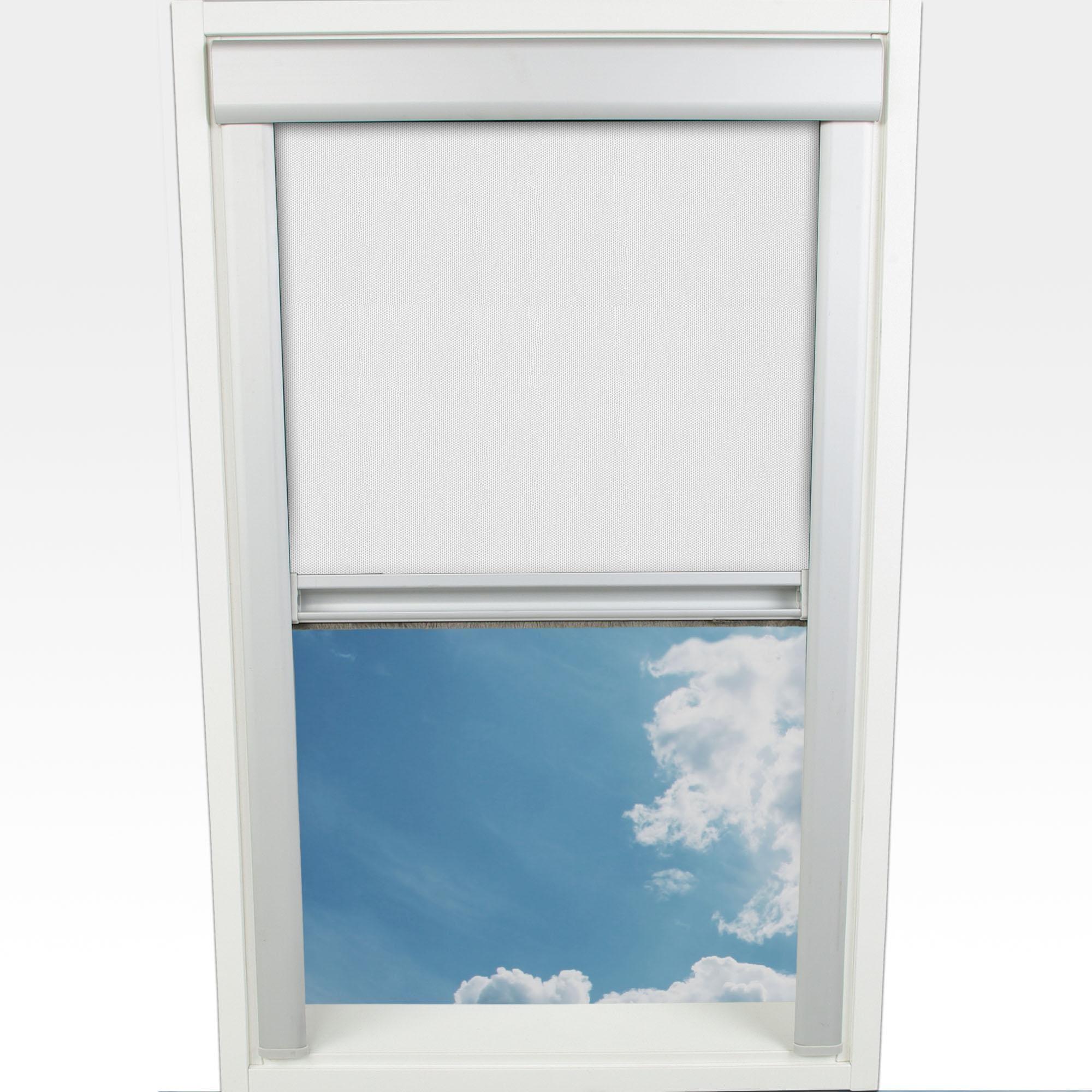 Dachfensterrollo Liedeco Verdunkelung im Fixmaß mit Bohren Wohnen/Wohntextilien/Rollos & Jalousien/Rollos/Dachfensterrollos