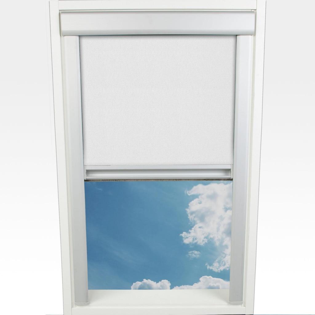 Liedeco Dachfensterrollo »Verdunkelung«, verdunkelnd, mit Bohren, in Führungsschienen