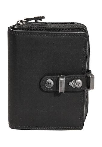 JACK'S INN 54 Geldbörse »Batida«, aus Leder mit coolem Totonkopf-Verzierung kaufen