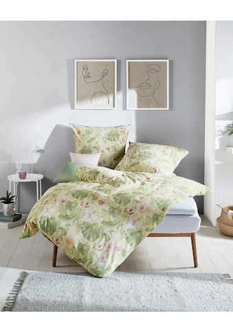 Kaeppel Bettwäsche »Giverny«, mit Monstera-Print kaufen