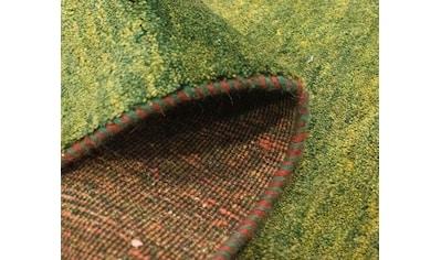 morgenland Wollteppich »Kelim Fars Teppich handgewebt grün«, rechteckig, 4 mm Höhe,... kaufen