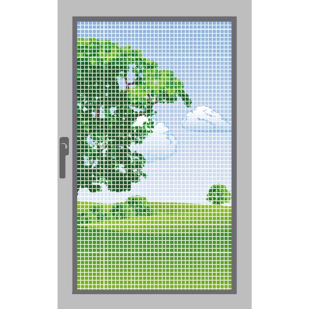 Windhager Moskitonetz, Insektenschutzgitter, BxH: 100x250 cm