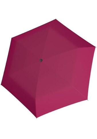doppler® Taschenregenschirm »Fiber Havanna uni, Berry« kaufen